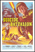 "Movie Posters:War, Suicide Battalion (American International, 1958). One Sheet (27"" X41""). War.. ..."