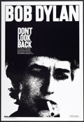 "Movie Posters:Documentary, Don't Look Back (Leacock-Pennebaker, R-1998). One Sheet (27"" X39.5""). Documentary.. ..."