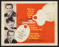 "Movie Posters:Comedy, The Apartment (United Artists, 1960). Lobby Card Set of 8 (11"" X 14""). Comedy.. ... (Total: 8 Items)"