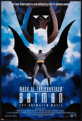 "Movie Posters:Animated, Batman: Mask of the Phantasm (Warner Brothers, 1993). One Sheet(27"" X 40"") DS. Animated.. ..."
