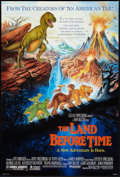 "Movie Posters:Animated, The Land Before Time Lot (Universal, 1988). One Sheets (3) (27"" X40"") SS and DS Advance and Regular. Animated... ... (Total: 3Items)"