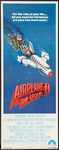 """Movie Posters:Comedy, Airplane II: The Sequel (Paramount, 1982). Insert (14"""" X 36""""). Comedy.. ..."""