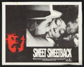 "Movie Posters:Blaxploitation, Sweet Sweetback's Baadasssss Song (Cinemation Industries, 1971).Lobby Card Set of 4 (11"" X 14""). Blaxploitation.. ... (Total: 4Items)"