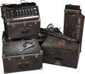 Music Memorabilia:Memorabilia, The Doors' Vintage Concert Tour Equipment.... (Total: 5 Items)