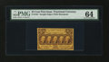 Fractional Currency:First Issue, Fr. 1281 25¢ First Issue PMG Choice Uncirculated 64....