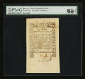 Colonial Notes:Rhode Island, Rhode Island May 1786 1s PMG Gem Uncirculated 65 EPQ....