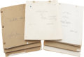 Movie/TV Memorabilia:Documents, Maria Montez Script Collection.... (Total: 7 Items)
