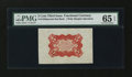 Fractional Currency:Third Issue, Fr. 1236SP 5¢ Third Issue Wide Margin Back PMG Gem Uncirculated 65 EPQ....