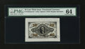Fractional Currency:Third Issue, Fr. 1253SP 10¢ Third Issue Wide Margin Face PMG Choice Uncirculated 64....