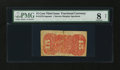 Fractional Currency:Third Issue, Fr. 1273-5SP 15¢ Third Issue Narrow Margin Back PMG Very Good 8 Net....
