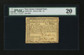 Colonial Notes:New Jersey, New Jersey June 9, 1780 $1 PMG Very Fine 20....