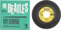 """Music Memorabilia:Recordings, The Beatles """"My Bonnie"""" 45 w/Picture Sleeve and Promo Copy (MGM13213, 1964)...."""