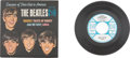 Music Memorabilia:Recordings, The Beatles Souvenir of Their Visit to America Promo and Stock EP (Vee-Jay 1-903, 1964). ...