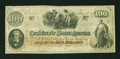 Confederate Notes:1862 Issues, Manuscript Military Issue T41 $100 1862.. ...