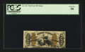 Fractional Currency:Third Issue, Fr. 1371 50¢ Third Issue Justice PCGS About New 50....