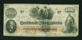 Confederate Notes:1862 Issues, Military Issue T41 $100 1862.. ...