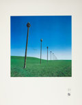 "Music Memorabilia:Posters, Storm Thorgerson Gentlemen Without Weapons ""Transmissions"" Fine ArtPrint, 50/100 (1988)...."