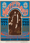 "Music Memorabilia:Posters, Big Brother and the Holding Company ""Motherload"" Avalon ConcertPoster FD-60, Signed by Rick Griffin (Family Dog, 1967)...."