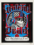 Music Memorabilia:Posters, Grateful Dead Berkeley Community Center Concert Poster, Signed andNumbered by Rick Griffin, 22/34 (1984)....