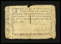 Colonial Notes:North Carolina, North Carolina July 14, 1760 30s Very Fine, damaged....