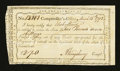 Colonial Notes:Connecticut, Connecticut Interest Payment. March 15, 1792. Choice About New....