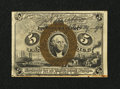 Fractional Currency:Second Issue, J.N. Huston Courtesy Autograph Fr. 1232 5¢ Second Issue Choice New....