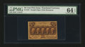 Fractional Currency:First Issue, Fr. 1281 25¢ First Issue PMG Choice Uncirculated 64 EPQ....