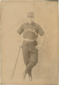 Baseball Collectibles:Photos, 1892 Charles Platt Cabinet Photograph...