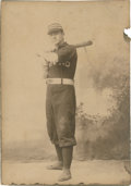 Baseball Collectibles:Photos, 1892 Jim Rogers Cabinet Photograph....
