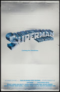 "Movie Posters:Action, Superman the Movie (Warner Brothers, 1978). Poster (26"" X 40"")Mylar Advance. Action.. ..."