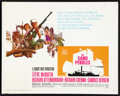 "Movie Posters:War, The Sand Pebbles (20th Century Fox, 1967). Half Sheet (22"" X 28"").War.. ..."