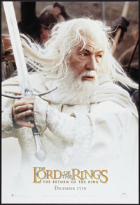 """The Lord of the Rings: The Return of the King (New Line, 2003). One Sheet (27"""" X 40"""") DS Advance. Gandalf Styl..."""