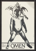 "Movie Posters:Horror, The Omen (20th Century Fox, 1976). Polish B1 (26.5"" X 37""). Horror.. ..."