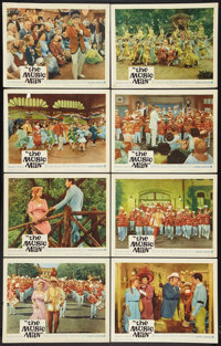"The Music Man (Warner Brothers, 1962). Lobby Card Set of 8 (11"" X 14""). Musical. ... (Total: 8 Items)"