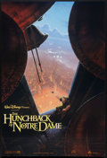 "Movie Posters:Animated, The Hunchback of Notre Dame (Buena Vista, 1996). One Sheet (27"" X40"") DS Advance. Animated.. ..."