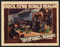 "Movie Posters:War, Desperate Journey (Warner Brothers, 1942). Lobby Card (11"" X 14"").War.. ..."