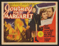 """Movie Posters:War, Journey for Margaret (MGM, 1942). Title Lobby Card and Lobby Card(11"""" X 14""""). War.. ... (Total: 2 Items)"""