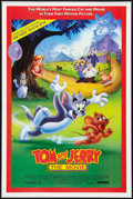 """Movie Posters:Animated, Tom and Jerry: The Movie (Miramax, 1992). One Sheets (2) (27"""" X 40""""and 27"""" X 41"""") SS Advance and Regular Styles. Animated.... (Total:2 Items)"""