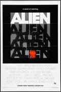 "Movie Posters:Science Fiction, Alien (20th Century Fox, 1979). Advance One Sheet (27"" X 41"") FlatFolded. Science Fiction.. ..."
