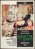 "Movie Posters:Fantasy, Juliet of the Spirits (Cineriz, 1965). Italian 2 - Folio (39"" X55""). Fantasy.. ..."