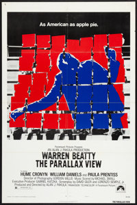 """The Parallax View (Paramount, 1974). One Sheet (27"""" X 41"""") Style B. Thriller"""