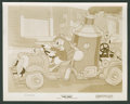 "Movie Posters:Animated, Donald Duck in ""Fire Chief"" (RKO, 1940). Stills (2) (8"" X 10"").Animated.. ... (Total: 2 Items)"