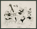 "Movie Posters:Animated, Donald Duck Lot (RKO, 1938-1939). Stills (2) (8"" X 10""). Animated..... (Total: 2 Items)"