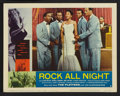 """Movie Posters:Crime, Rock All Night (American International, 1957). Lobby Card Set of 8 (11"""" X 14""""). Crime.. ... (Total: 8 Items)"""