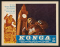 """Movie Posters:Science Fiction, Konga (American International, 1961). Lobby Card Set of 8 (11"""" X14""""). Science Fiction.. ... (Total: 8 Items)"""