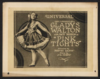 "Pink Tights (Universal, 1920). Lobby Card Set of 8 (11"" X 14""). Comedy. ... (Total: 8 Items)"