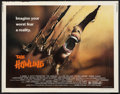 "Movie Posters:Horror, The Howling Lot (Avco Embassy, 1981). Half Sheet (22"" X 28"") and Pressbook (11"" X 17""). Horror.. ... (Total: 2 Items)"