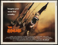 "The Howling Lot (Avco Embassy, 1981). Half Sheet (22"" X 28"") and Pressbook (11"" X 17""). Horror..."