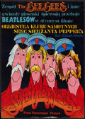 "Movie Posters:Rock and Roll, Sgt. Pepper's Lonely Hearts Club Band (Paramount, 1979). PolishB1(26"" X 36.5""). Rock and Roll.. ..."