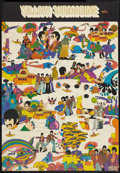 "Movie Posters:Animated, Yellow Submarine (United Artists, 1968). French Novelty Poster (27"" X 39""). Animated.. ..."